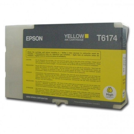 Cartouche Original EPSON T6174 POUR B-500DN/B-510DN  (7 000 pages) - Yellow