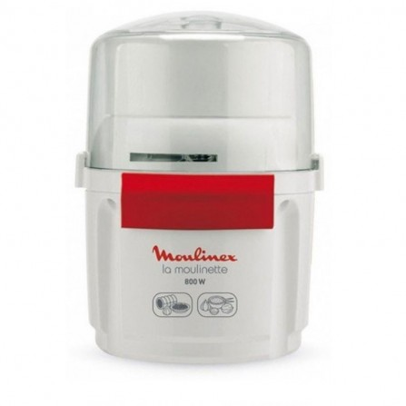 Mini hachoir Moulinex 800 Watt 200 g - Blanc (AD5601EG)