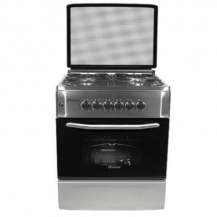 Cuisinière Orient 4 feux - Inox (OC-60-60 SIT)