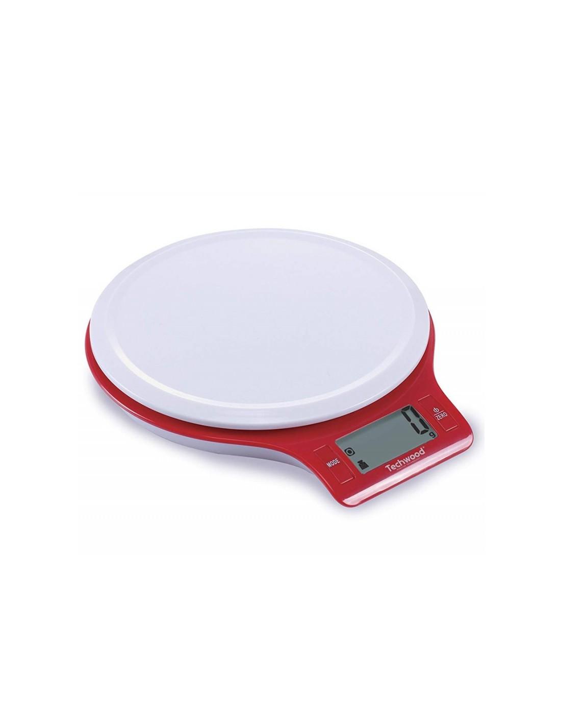balance digitale cuisine balance de cuisine digitale techwood 5kg rouge tpa 525