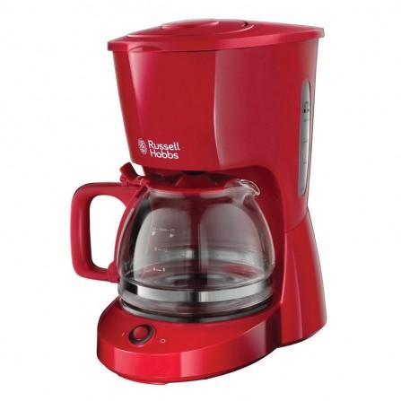 Cafetière 10 tasses Russell Hobbs 975 Watt 1.25L - Rouge (22611-56)