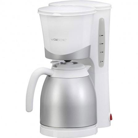 Machine à café avec thermo 10 tasses CLATRONIC 850 Watt 1L - Blanc (KA3327)