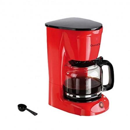 Cafetière 15 tasses LIVOO 950 Watt 1,8L - Rouge (DOD126)