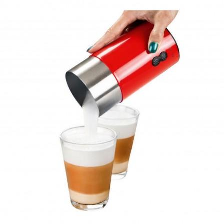 Mousseur à lait LIVOO 650 Watt 0,25L - Rouge (DOD113)