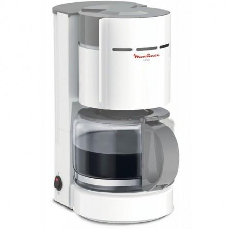 Cafetière 12 Tasses Moulinex - 800 W - Gris/Blanc (FG121110)