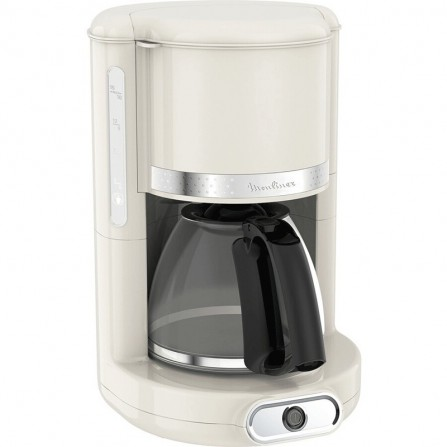 Cafetière gamme soleil 15 tasses MOULINEX 1,25L - Blanc (FG381A10)