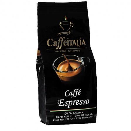 Café moulu espresso CaffeItalia 250gr - (CAFE-ITALIA-MOULU)