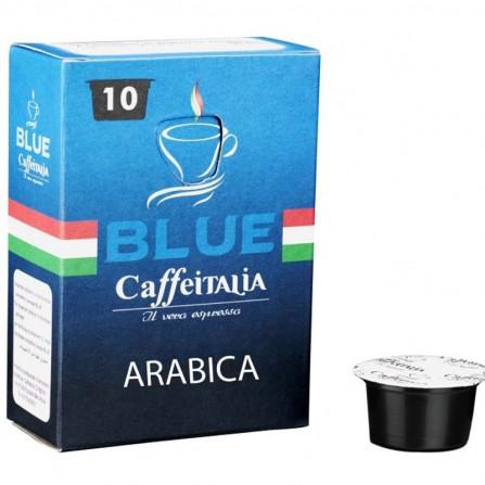 Paquet de 10 capsules arabica Lavazza blue - (CAP-LAVAZZA-ARABICA )