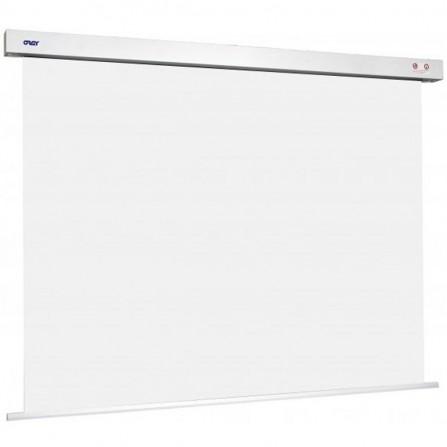 Ecran de projection motorisé ORAY square pro 180 x 240 cm - Blanc (SQ1B1180240)