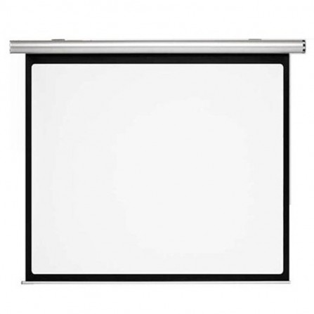Ecran de projection mural Telon + commande 400 X 400 cm - Blanc (ECR/M/A/400400)