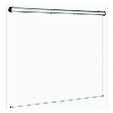 Ecran de projection manuel ORAY super gear pro 240 x 240 cm - Blanc (MPP08B1240240)