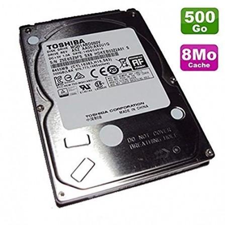 "Disque Dur Interne Toshiba 2,5"" 500 Go SATA pour Pc Portable(MQ01ABD050V)"