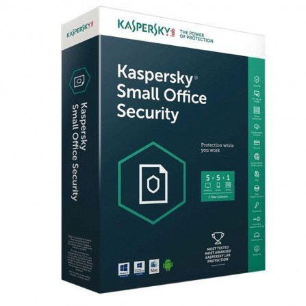 AntiVirus Kaspersky Small Office Security 7.0 (5 poste + 1 Serveur)