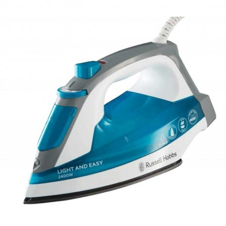 Fer à Repasser RUSSELL HOBBS Light & Easy Iron 2400W  Bleu (23590-56)