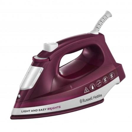 Fer à Repasser RUSSELL HOBBS Light & Easy Brights Mûre 2400W Violet (24820-56)