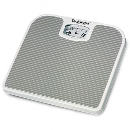 Pèse personne mécanique Techwood - Blanc (TPP-520)
