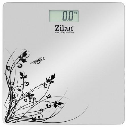 Pèse personne Zilan - Gris (ZLN7680Gris)