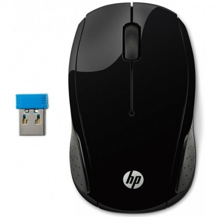 Souris sans fil HP 200 Noir (X6W31AA)
