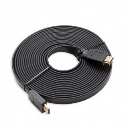 Câble HDMI Plat 15M Noir (HDMI-PLAT-15M)