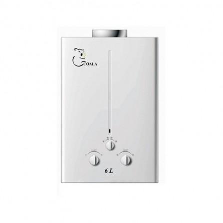 Chauffe eau à gaz naturel Coala 6L - Blanc (CBN/6)