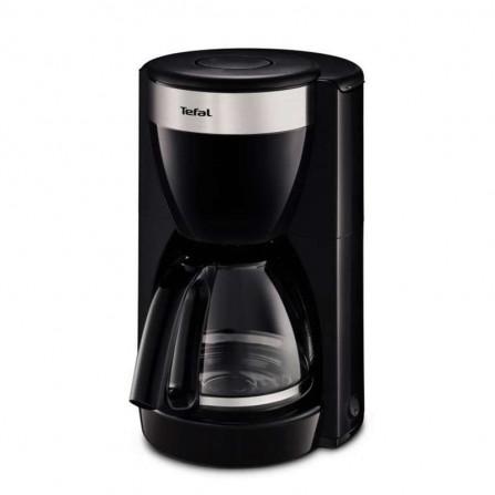 Cafetière filtre Tefal 1000 Watt 1,25L 15 tasses - Noir (CM180811)