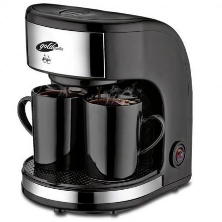Cafetière filtre Goldmaster 450W 0.3L Noir (GM-7331)