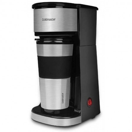 Cafetière filtre Goldmaster 750W 450 ml Noir (GM-7347)