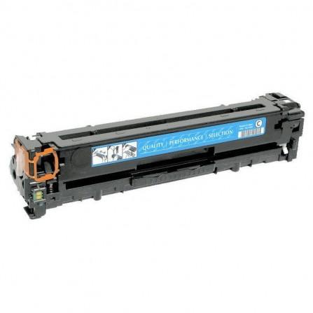 Toner Adaptable HP LaserJet CF381A Pour HP 312A - Cyan