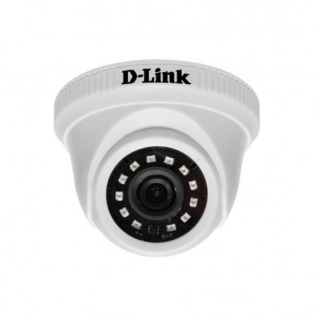 Caméra de Surveillance en plastique à dôme analogique Full HD  2M (DCS-F2612-L1P)