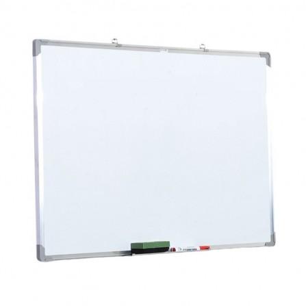 "Tableau Blanc Magnétique 2X3 Cadre Aluminium 90X120 ""TSX7129 SS"""