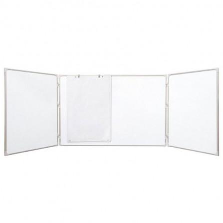 """Tableau Blanc 2X3 Multi Panneaux 120X90/240 """"TRS129"""""""