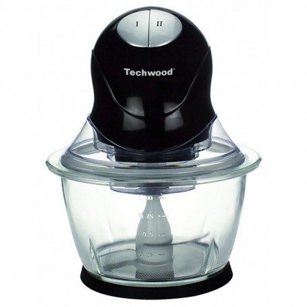 Mini Hachoir électrique Techwood 300 Watt 1L - Noir (THA-301)