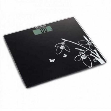 Pèse personne digital Techwood 150Kg - Noir (TPP-816)