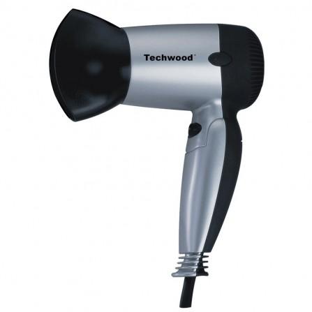 Sèche cheveux de voyage Techwood 1200W  - Gris ( TSC-1207 )