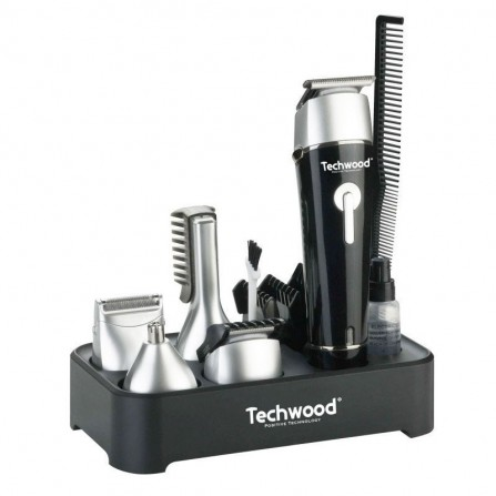 Tondeuse multi-usages Techwood - Argent et Noir (TTN-622)