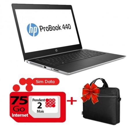 Pc Portable HP ProBook 440 G5 - i3 8è Gén - 4 Go Silver (3QM70EA)