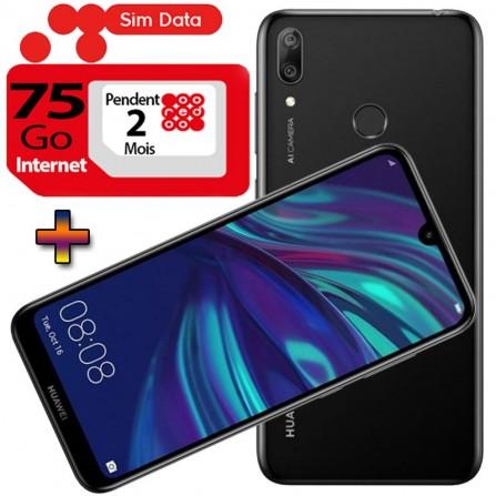 Smartphone HUAWEI Y7 Prime 2019 4G Noir