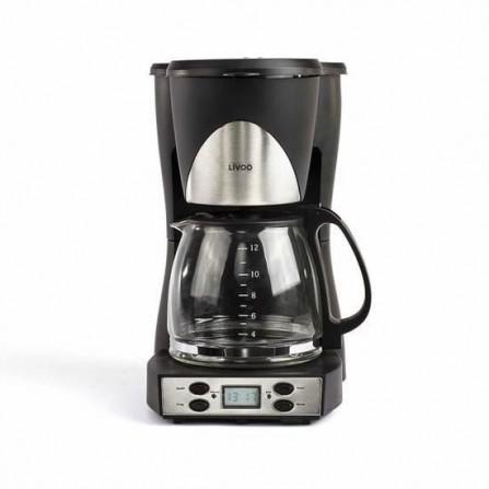 Cafetière électrique LIVOO 1000 Watt -1.5L Noir (DOD145)