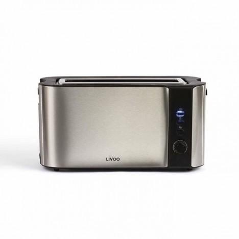 Grille-pain électrique LIVOO 1000 Watt - Inox (DOD155) prix en Tunisie