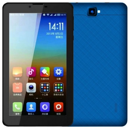 "Tablette VEGA ITAB 7"" 4G - Bleu (ITAB-BLUE)"