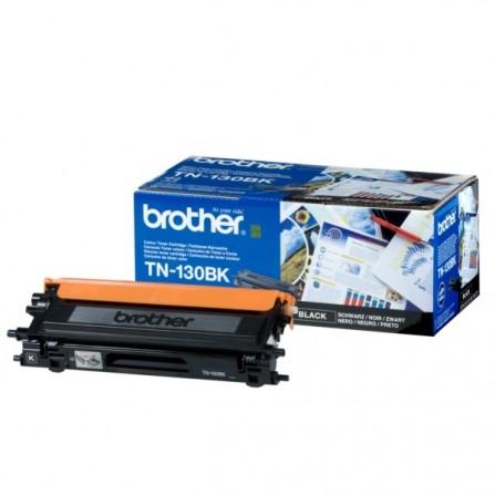 Toner Original Brother LaserJet TN130BK pour Brother HL-4040CN , MFC 9440CN - Noir (2500 Pages)