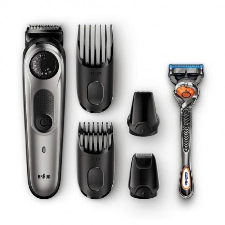 Tondeuse cheveux et barbe Braun - Noir (BT7020)