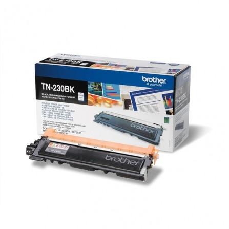 Toner Original Brother LaserJet TN230BK pour Brother HL3040CN , MFC9120CN - Noir (2200 Pages)