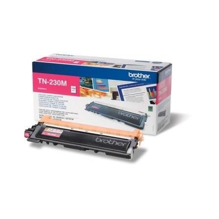 Toner Original Brother LaserJet TN230M pour Brother HL3040CN , MFC9120CN - Magenta (1400 Pages)