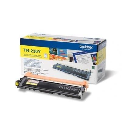 Toner Original Brother LaserJet TN230Y pour Brother HL3040CN , MFC9120CN - Jaune (1400 Pages)