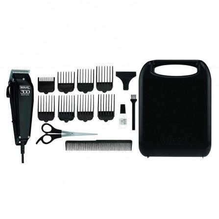 Tondeuse à Cheveux WAHL 300 Series avec 15 pièces - Noir (9247-1316)