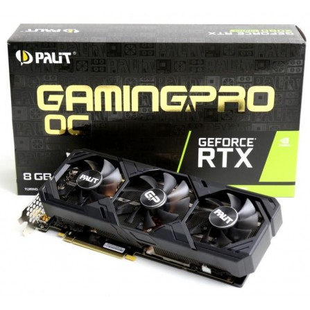 Carte Graphique Palit RTX 2080 Super GAMING PRO 8GB Fans GDDR6 (PALIT-RTX-2080-8G)