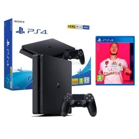 CONSOLE PS4 SLIM SONY 500GO + FIFA 20
