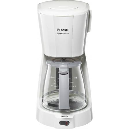 Cafetière Filtre BOSCH Compact Class Extra 15 Tasses - 1100 Watt - 1.25L -Blanc (TKA3A031)