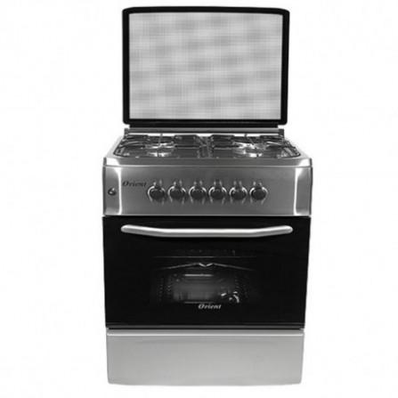 Cuisinière à gaz Orient 4 feux 50*60cm - Inox (OC-50-60SIT)